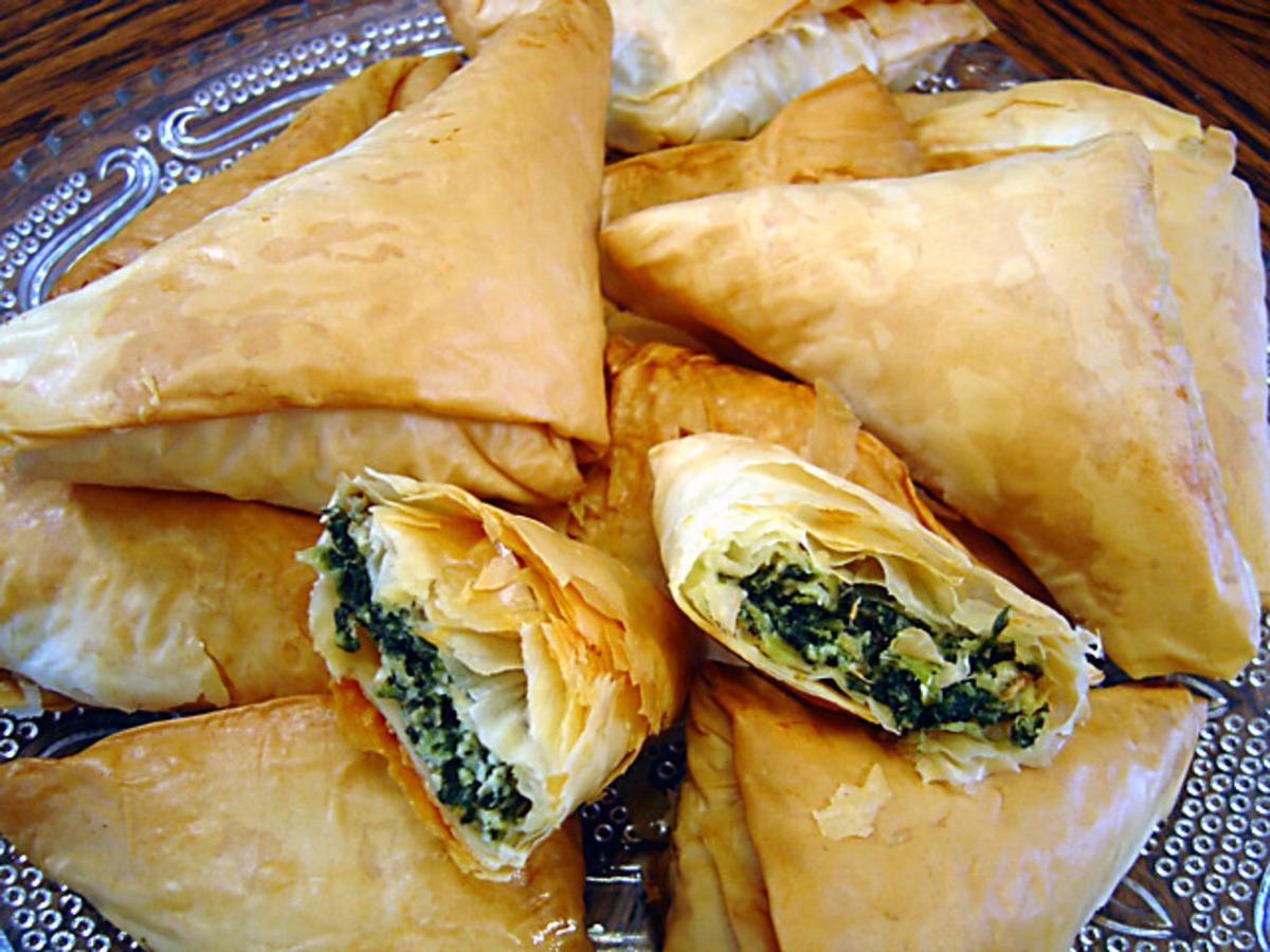 Spanakopita Triangles Recipe - Food.com