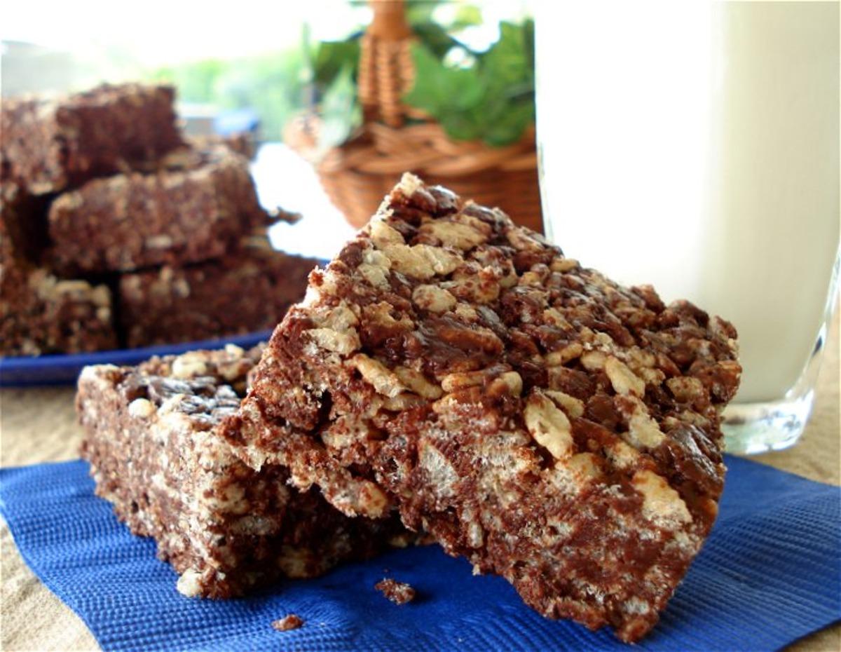 Chocolate Rice Krispies Treats_image