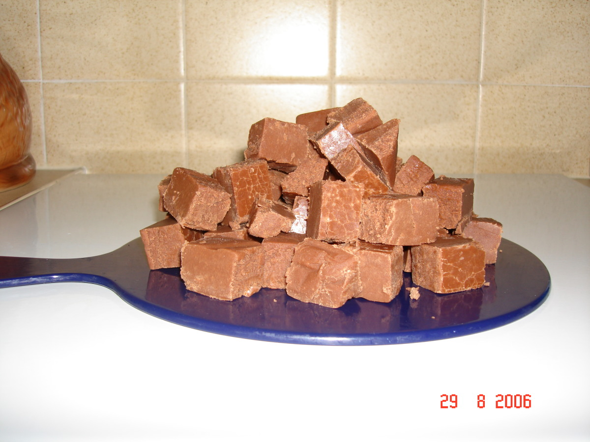 Creamy Homemade Chocolate Fudge image