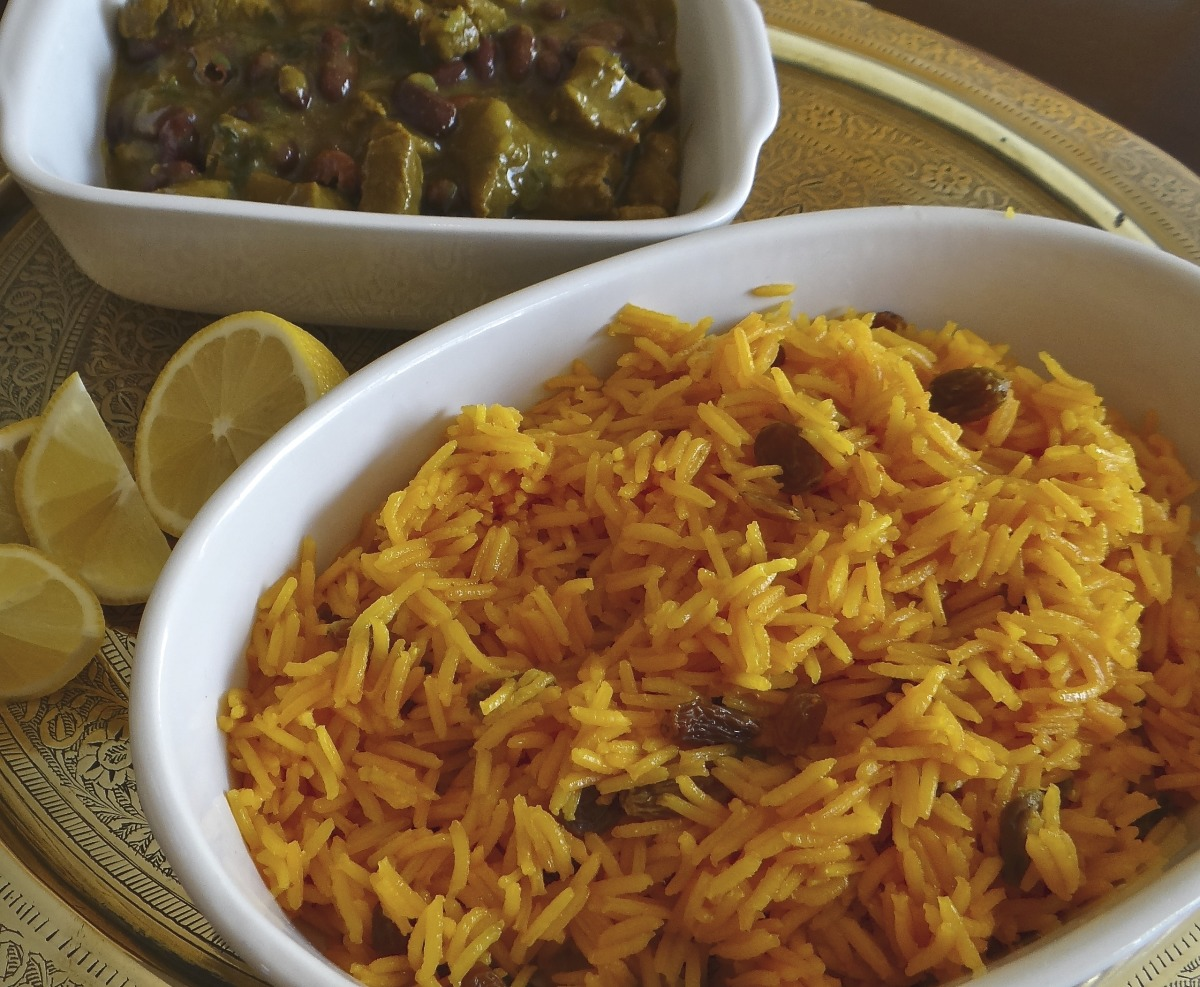 South African Yellow Rice Recipe Food Com