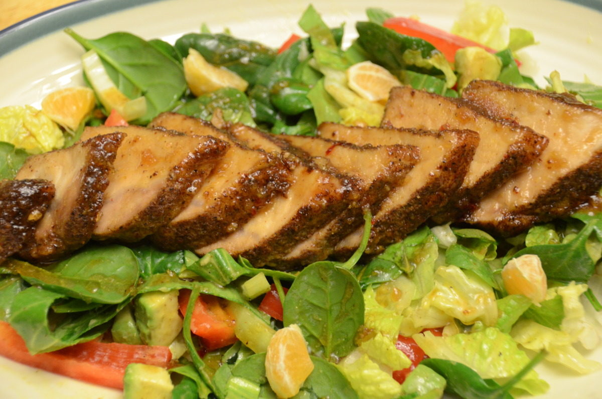 Island Pork Tenderloin (Optional Salad) image