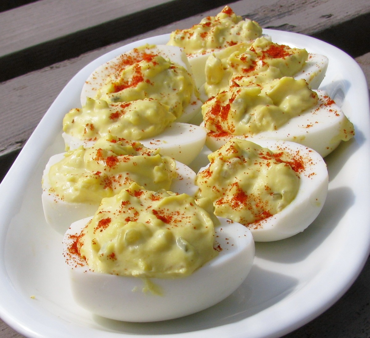 Old Fashion Deviled Eggs image