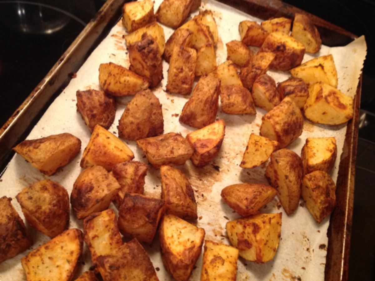 Dijon-Roasted Potatoes (Weight Watchers) image