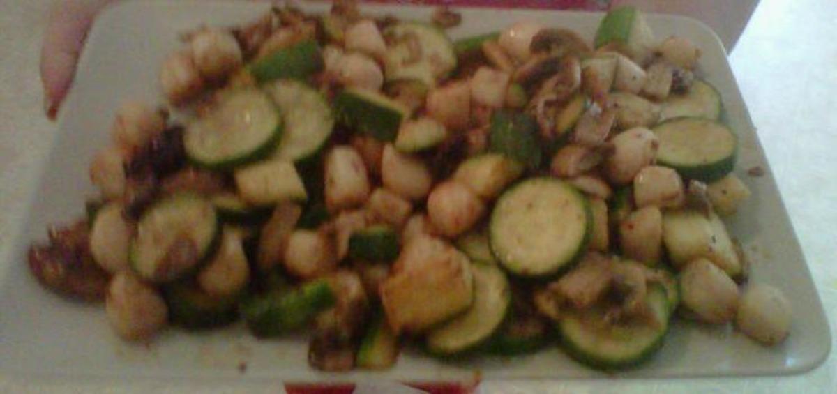 Scallops With Zucchini image