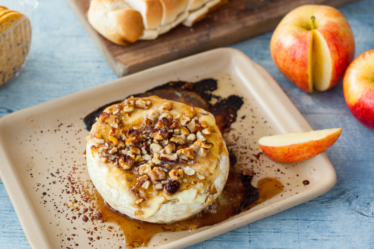 Baked Brie with Caramelized Pecans image