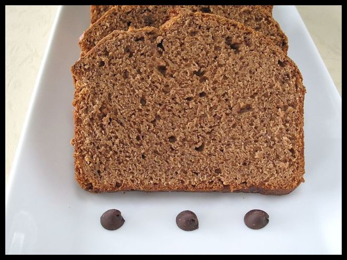 Chocolate Banana Loaf image