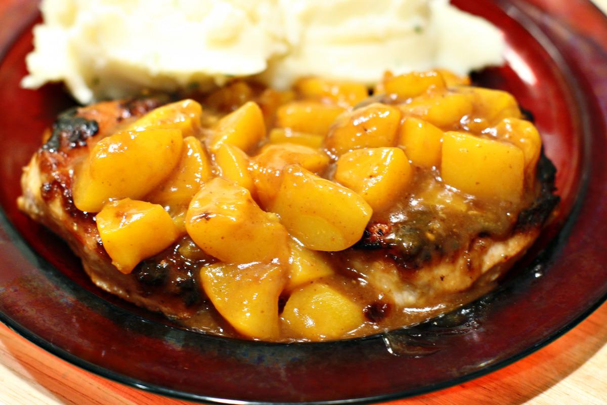 Peachy Pork Chops