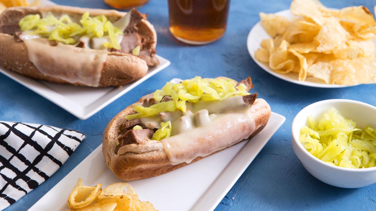 crock pot hot deli roast beef sandwiches