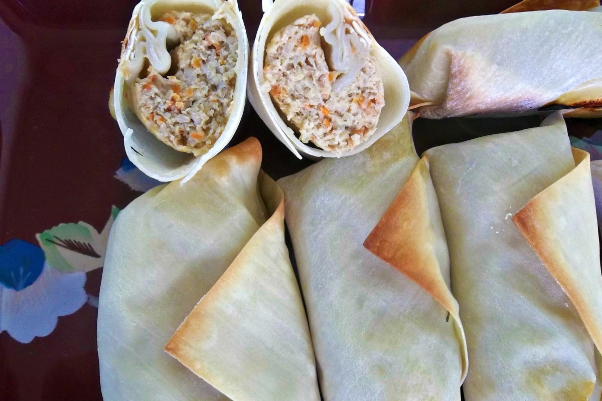 Baked Lumpia Rolls Recipe Food Com