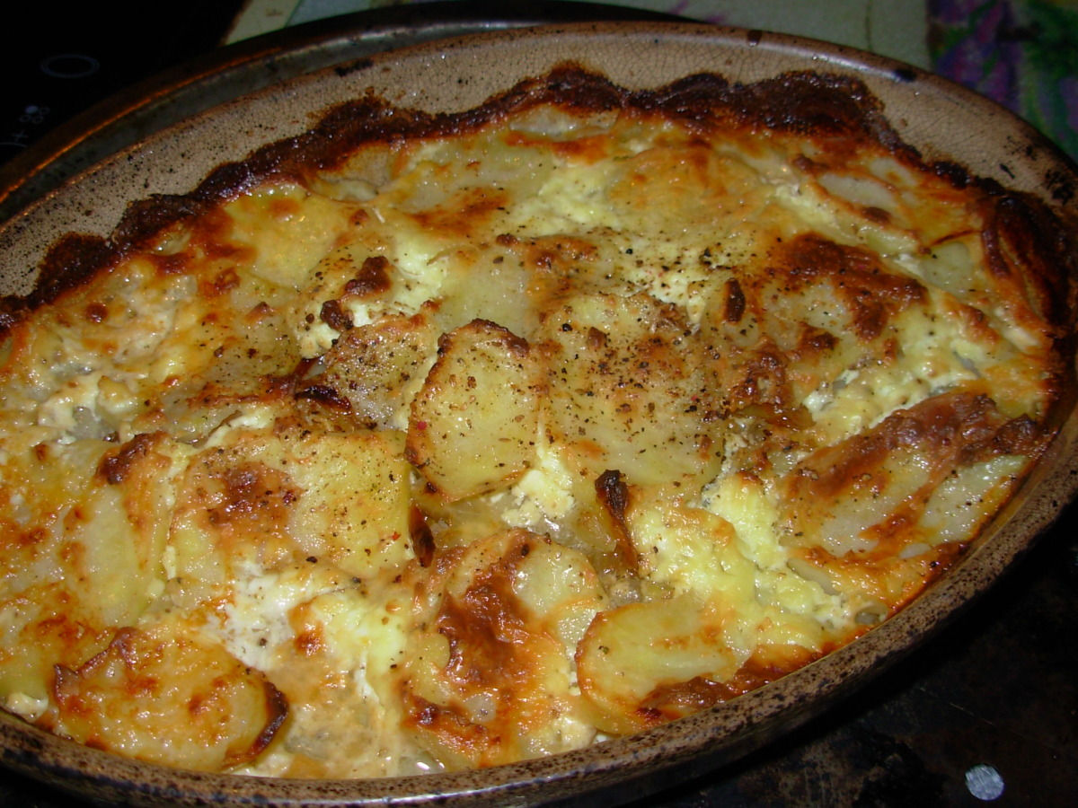 Jansson's Temptation (Swedish Potato and Anchovy Casserole) image