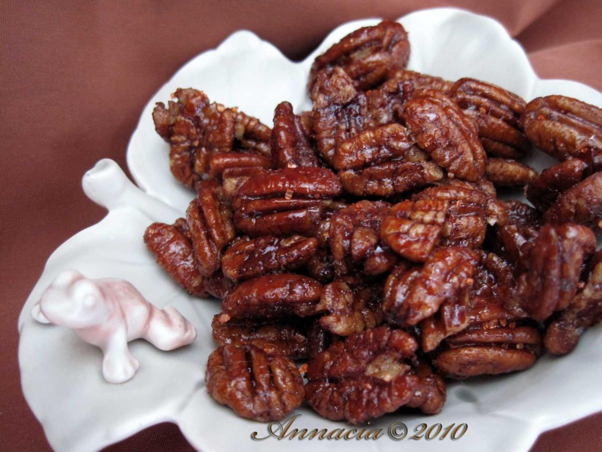 Cinnamon-Coffee Pecans image