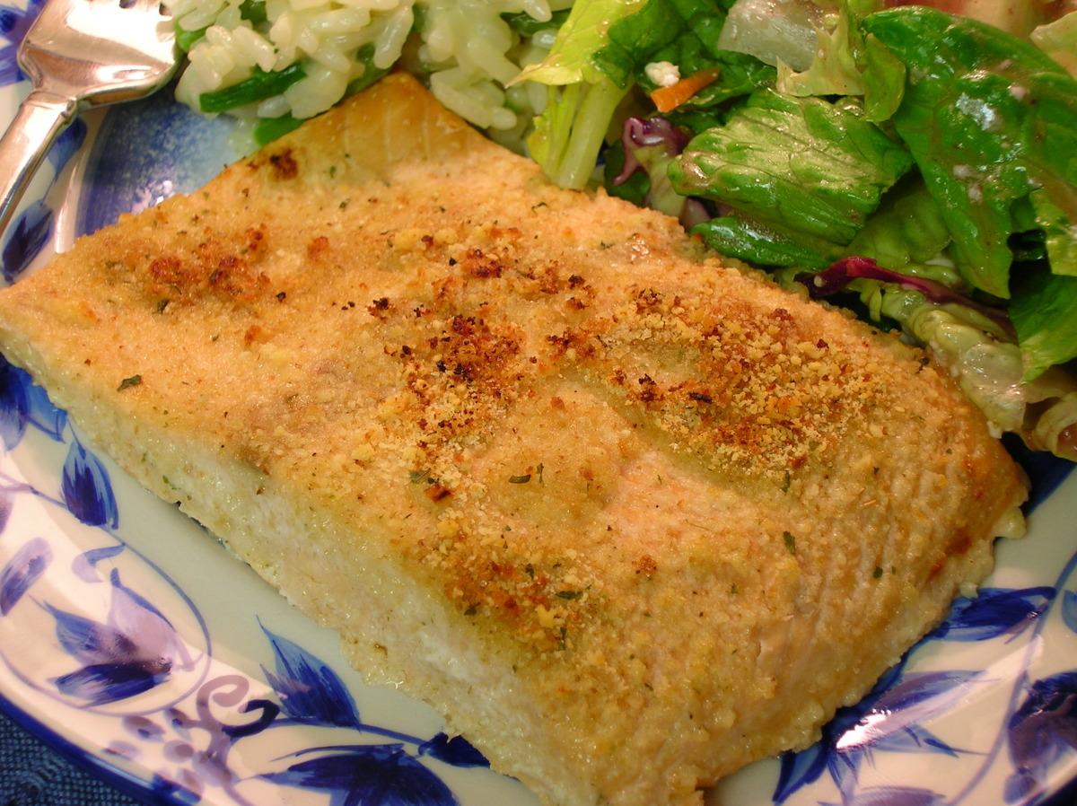 Baked Salmon Fillets_image