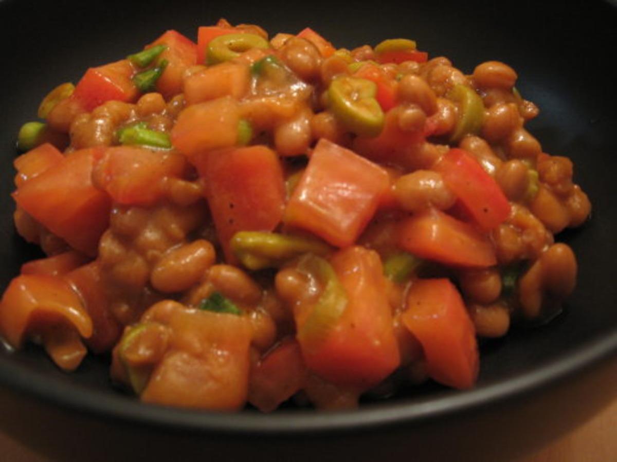 Three Bean Salad Recipe With Carrots