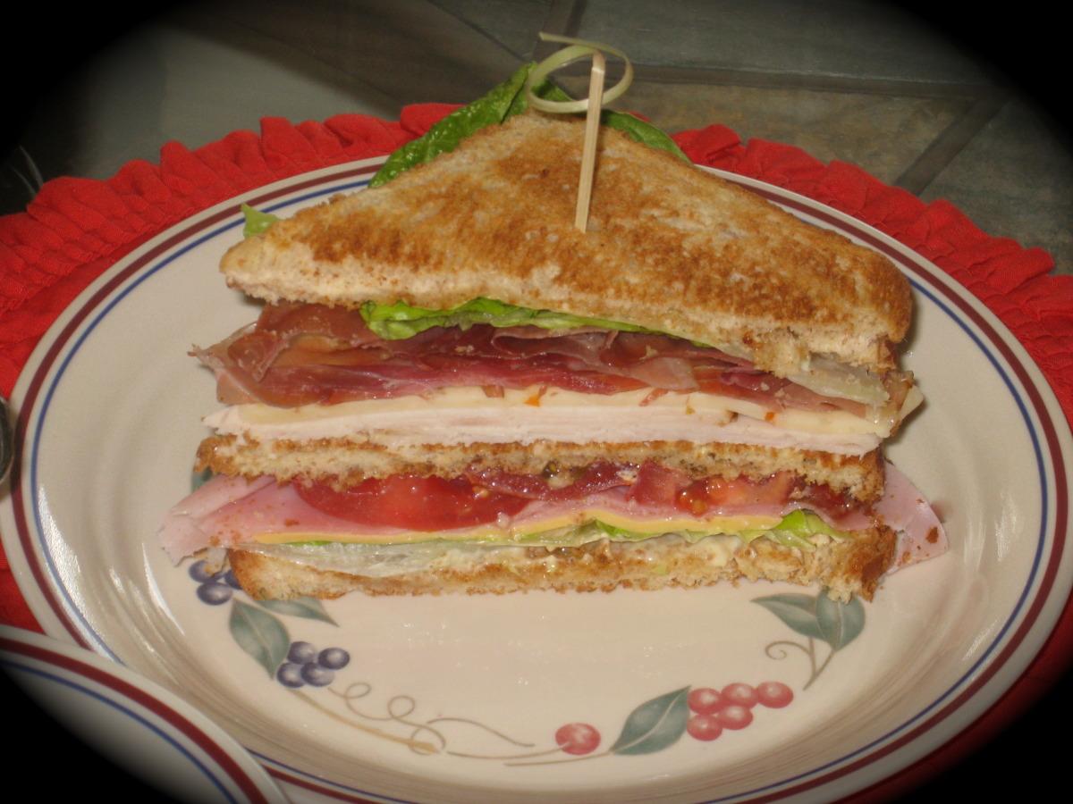 Kittencal's Classic Club Sandwich image