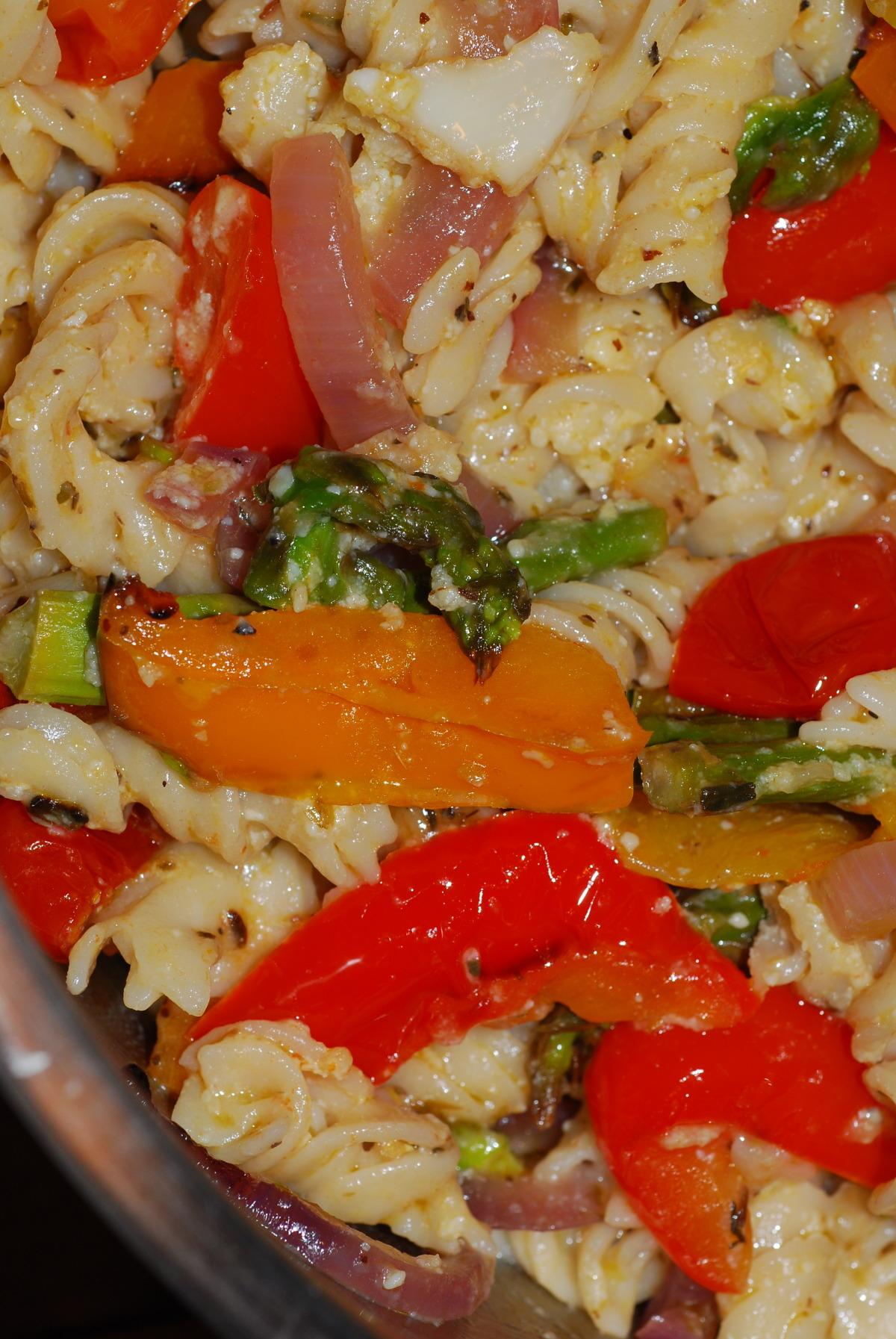 Pasta Primavera image