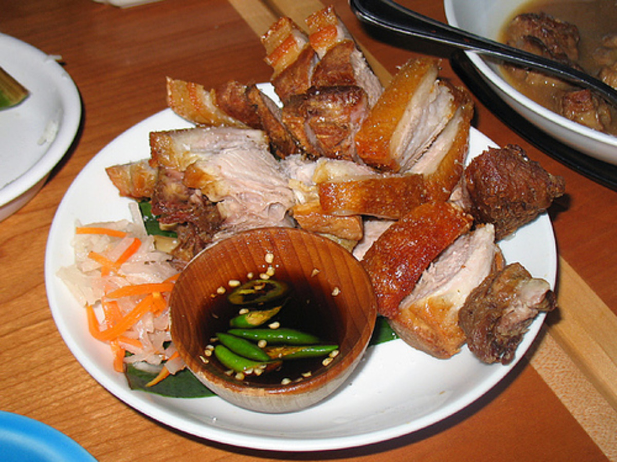 Lechon Kawali Crispy Pan Fried Roasted Pork Recipe Food Com