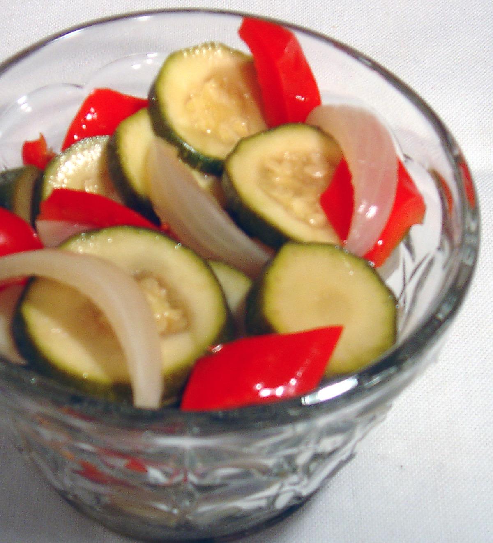 Zucchini Pickles image