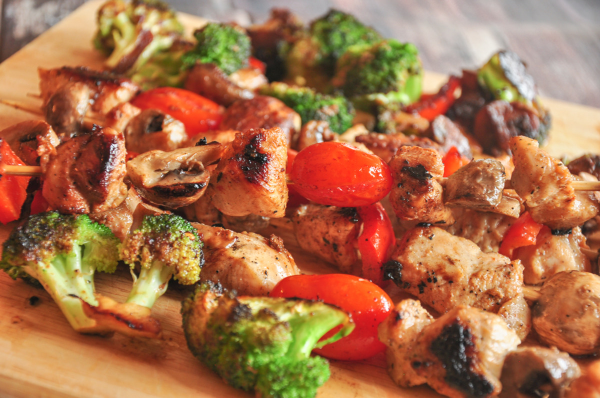 Marinade for Chicken Kabobs image