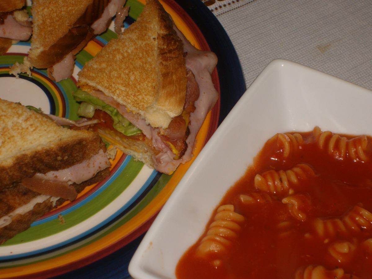 Classic Club Sandwiches image