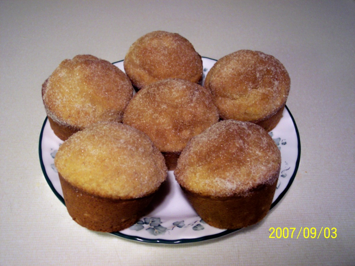 Cinnamon Sugar Muffins image
