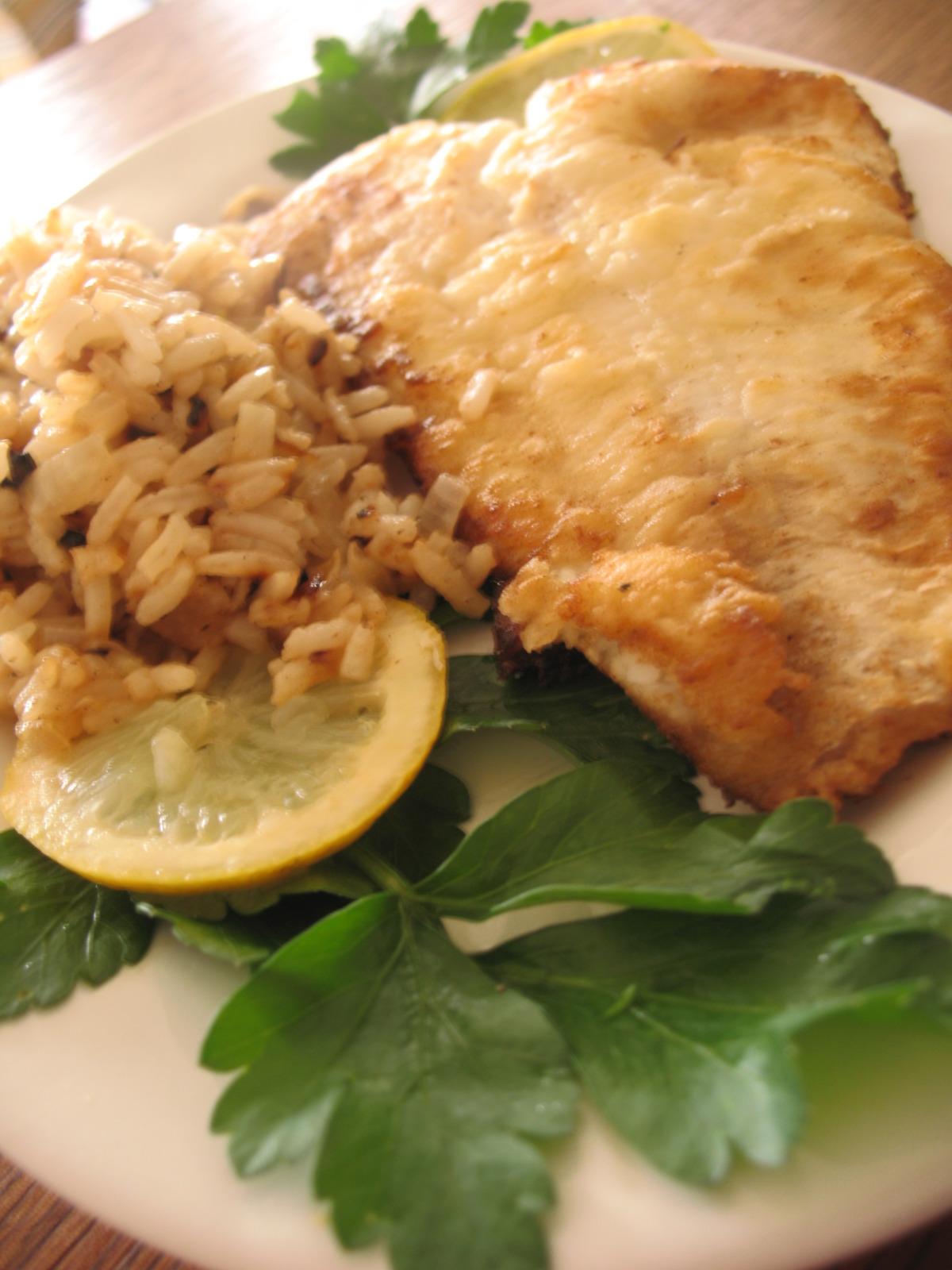 Egyptian Sayyadiah - Fish With Rice image
