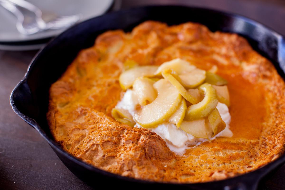 Arkansas German-Baked Pancake
