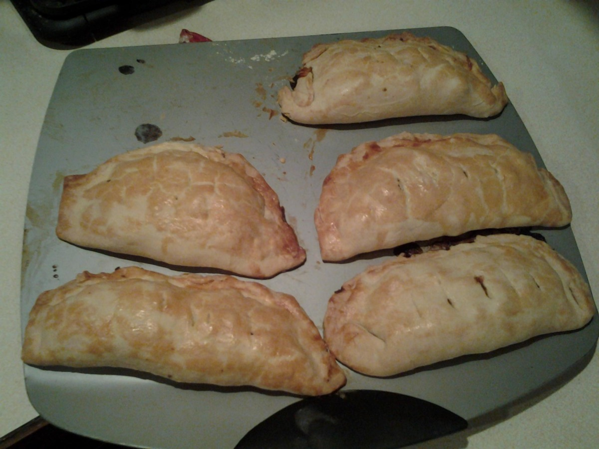 Pasty Pastry for Cornish Miners' Pasties image