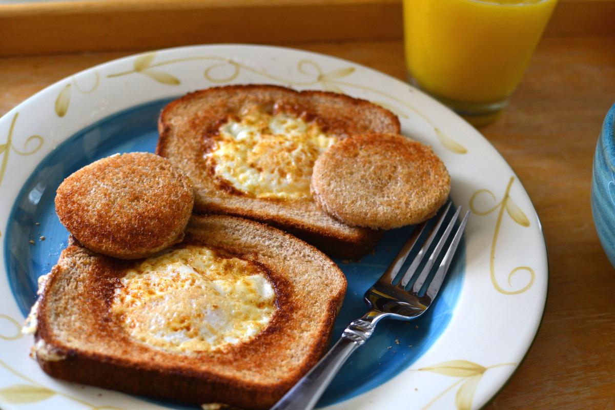 Egg In The Basket Recipe Food Com