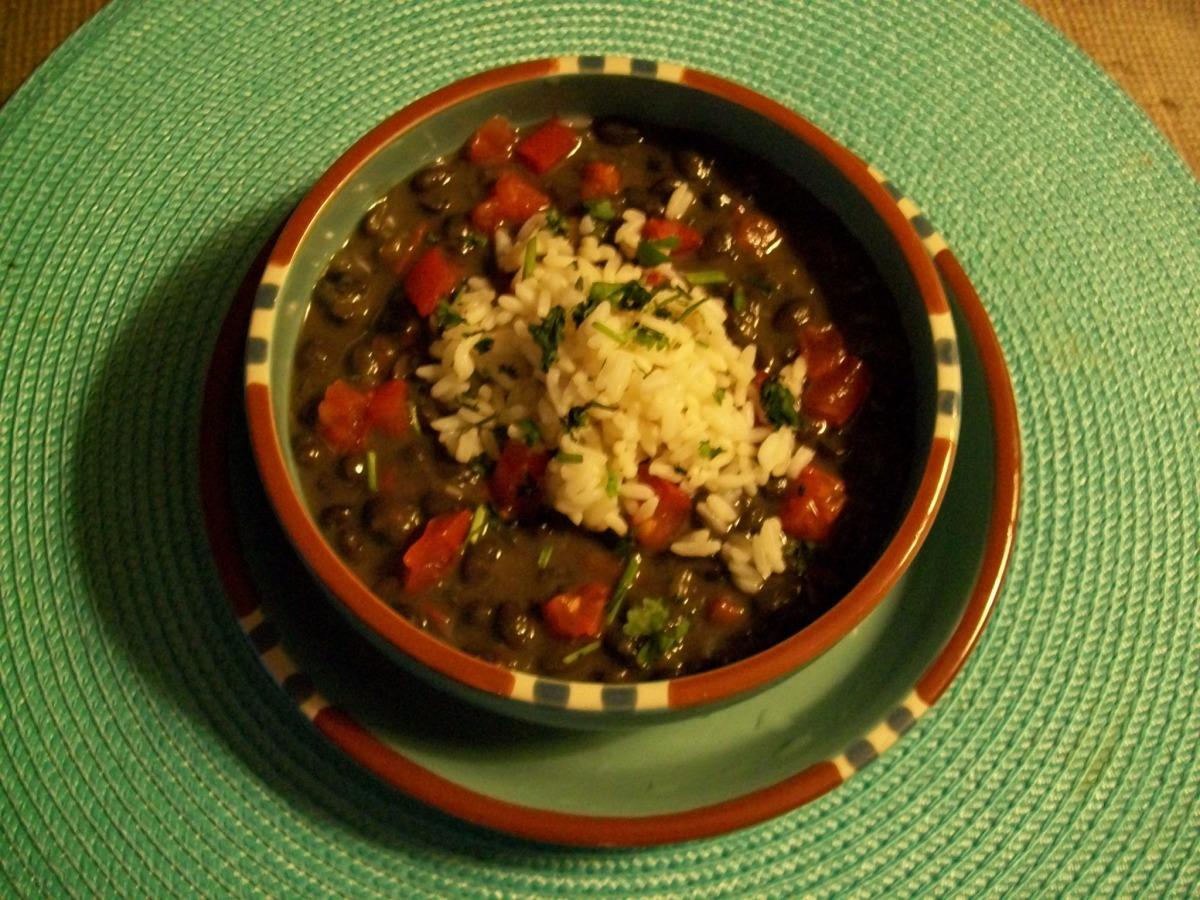 Cuban Black Beans image