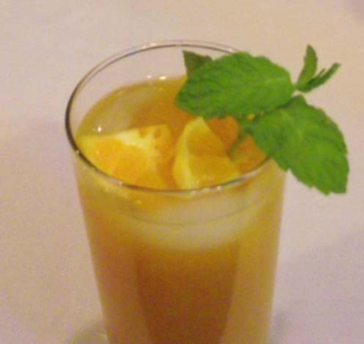 Citrus-Mint Tea image