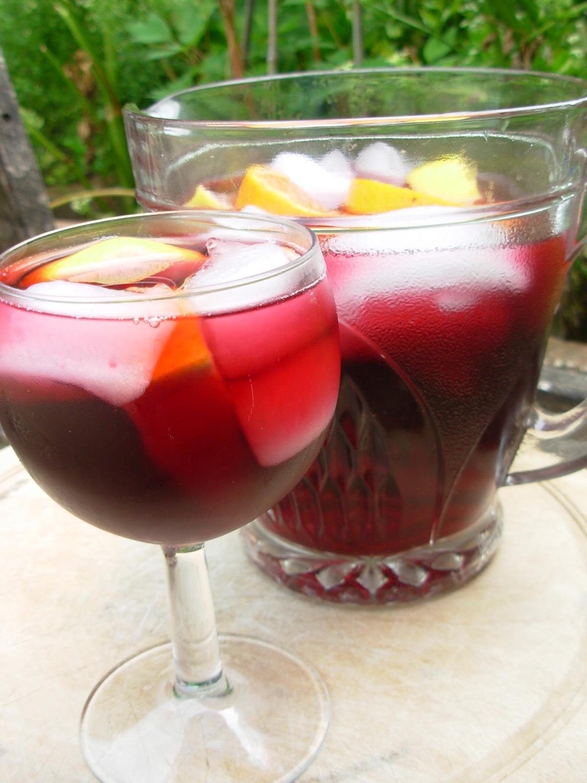 Sangria Con Tequila Recipe Mexican Food Com
