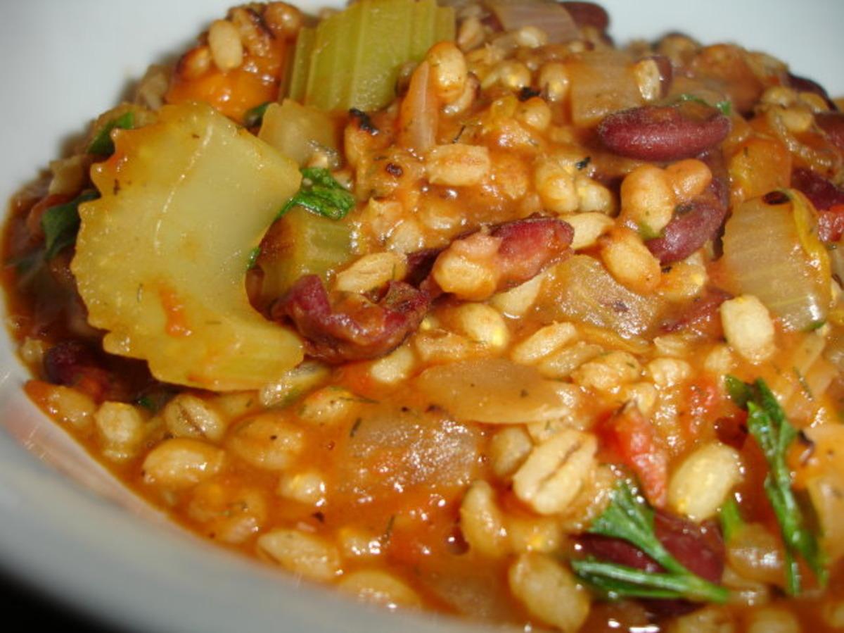 Barley Bean Soup image
