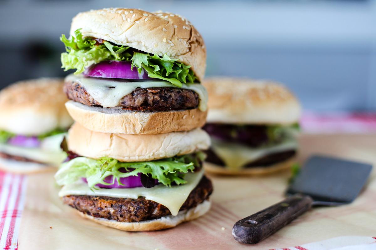 Easy Veggie Burgers image