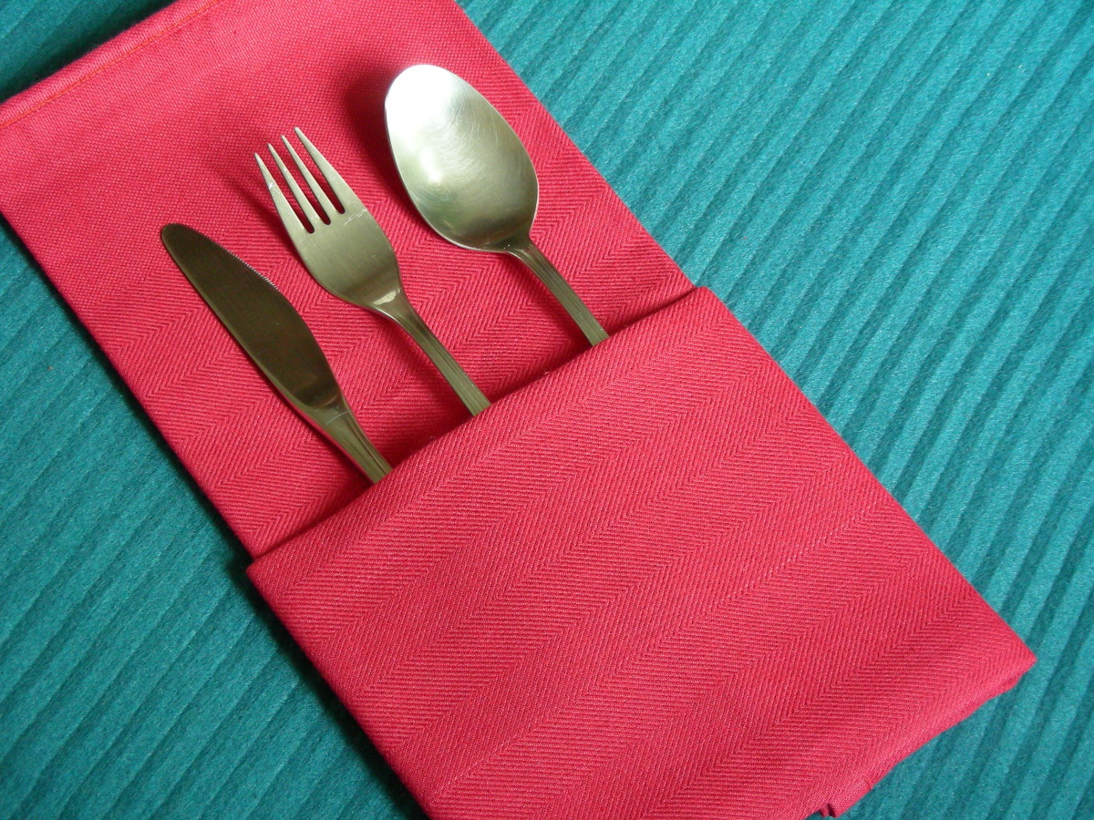 Serviette Napkin Folding The Simple Pocket Recipe Food Com