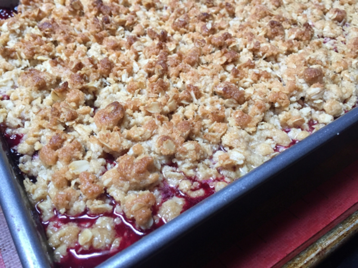 Summer Berry Crisp image