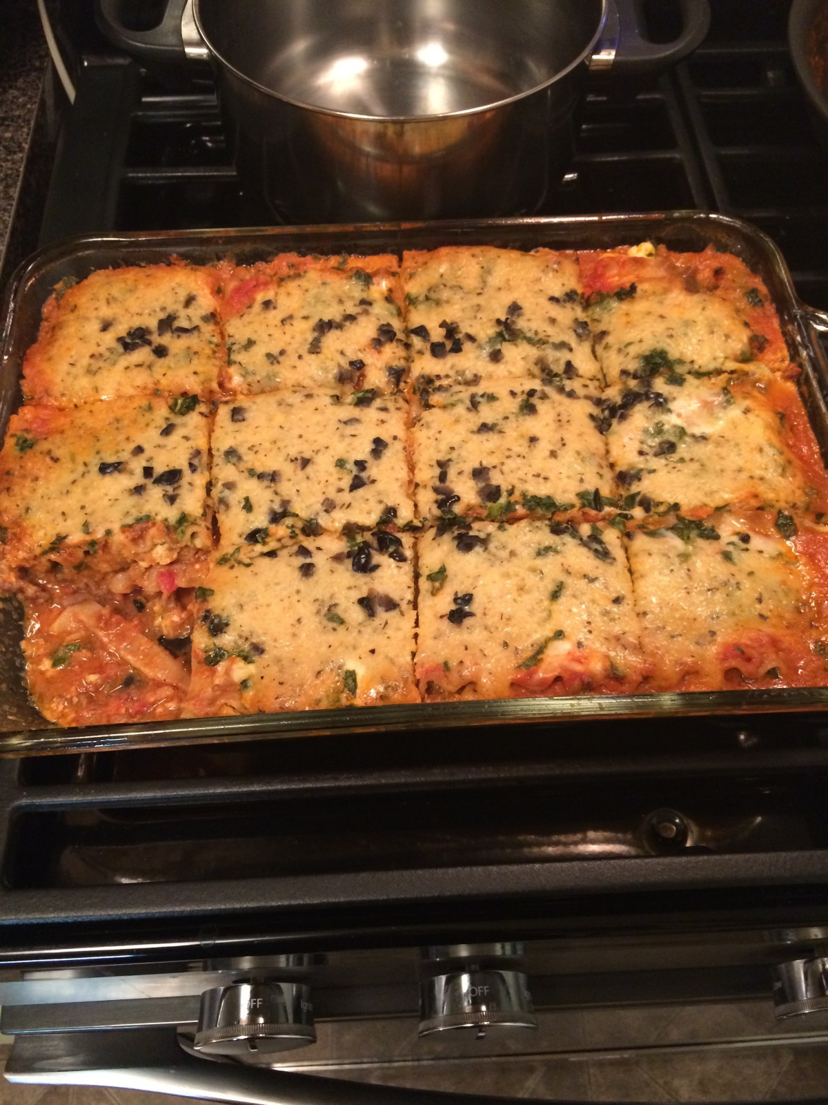 Healthy Diabetic 4 Cheese Spinach Lasagna Ala Elswet