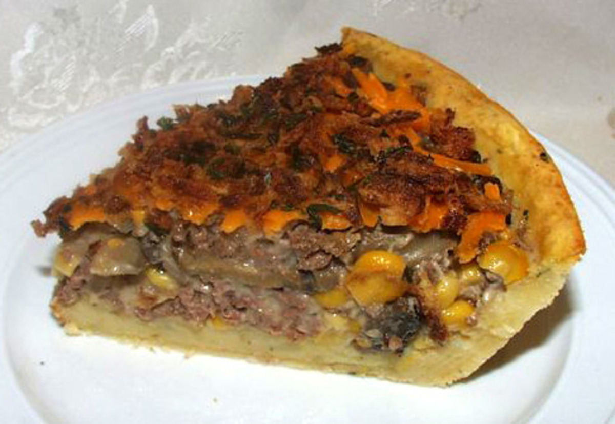 Mashed Potato Crust Pie image