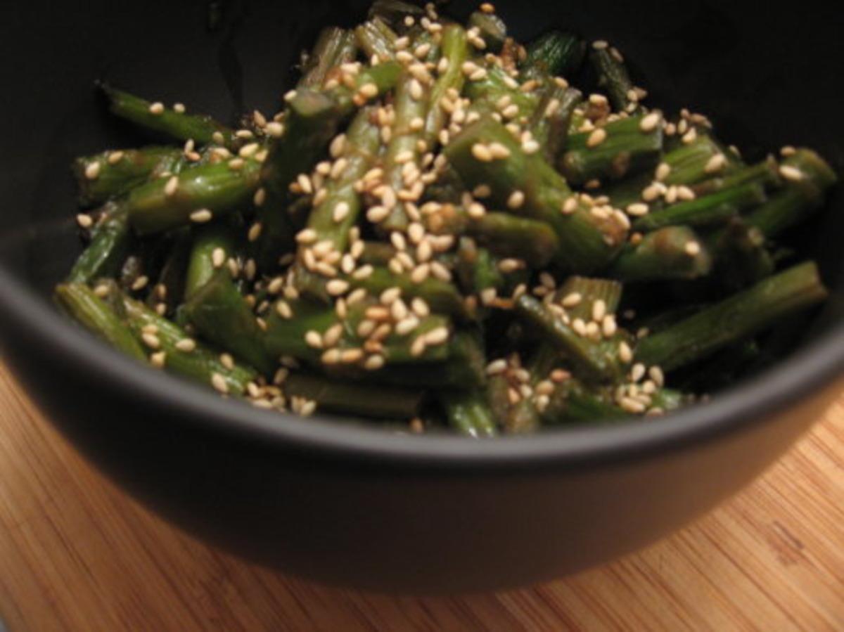Sesame-Asparagus Stir-Fry image