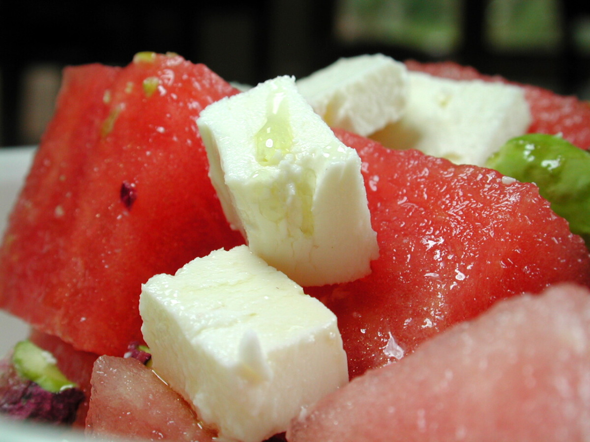 Watermelon Feta Salad image