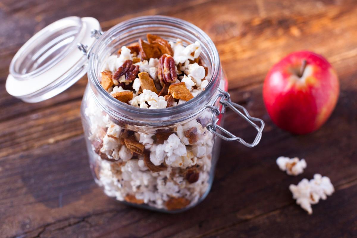 Cinnamon Apple Popcorn image