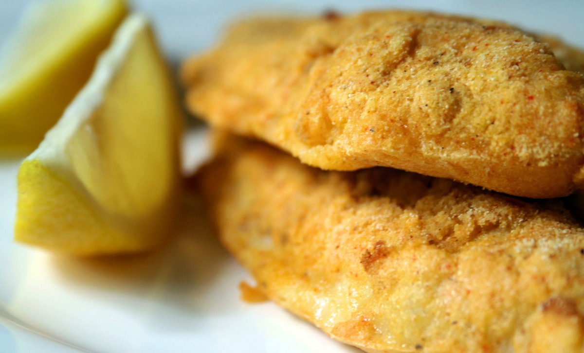 Easy Low-Fat Oven Fried Catfish image
