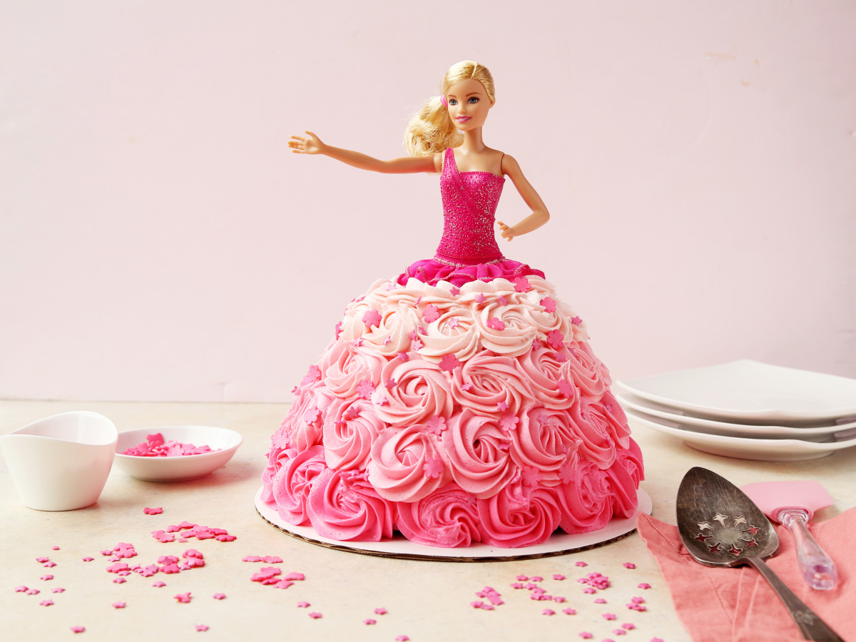 Phenomenal Barbie Birthday Cake Recipe Food Com Funny Birthday Cards Online Barepcheapnameinfo