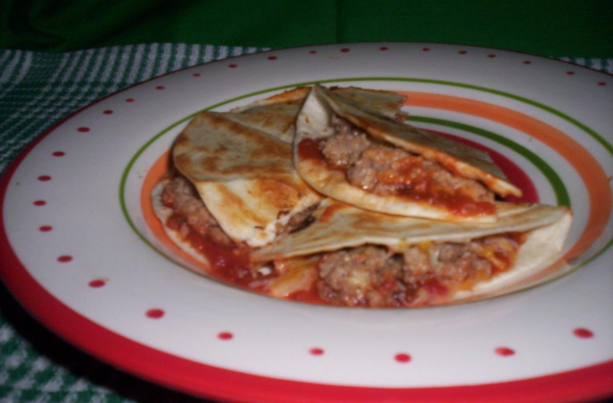 Meatloaf Quesadillas image