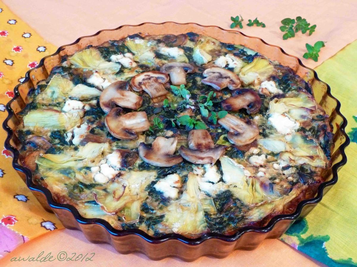 Spinach and Artichoke Pie - Ww Core image