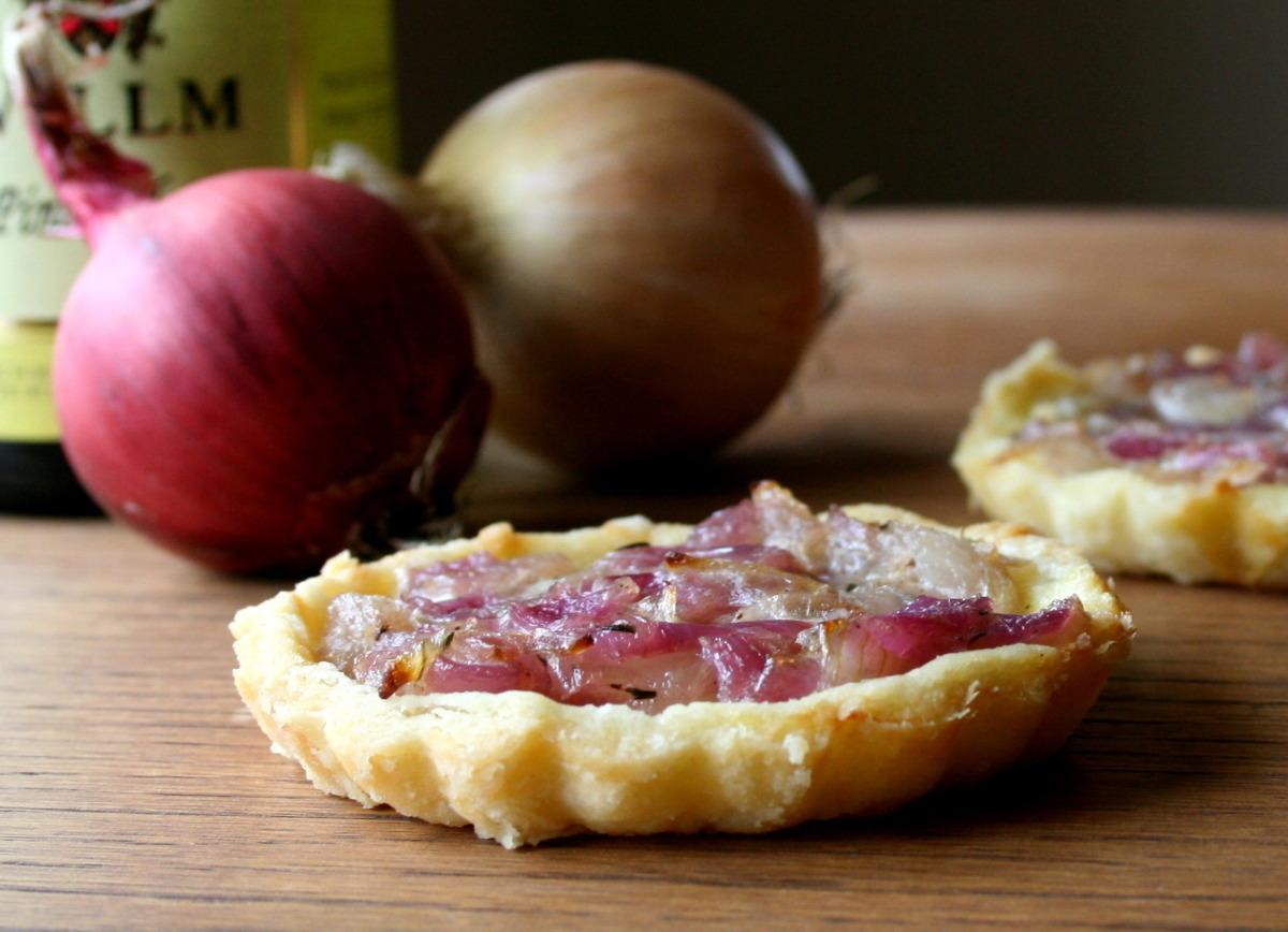 Alsatian Onion Tart image