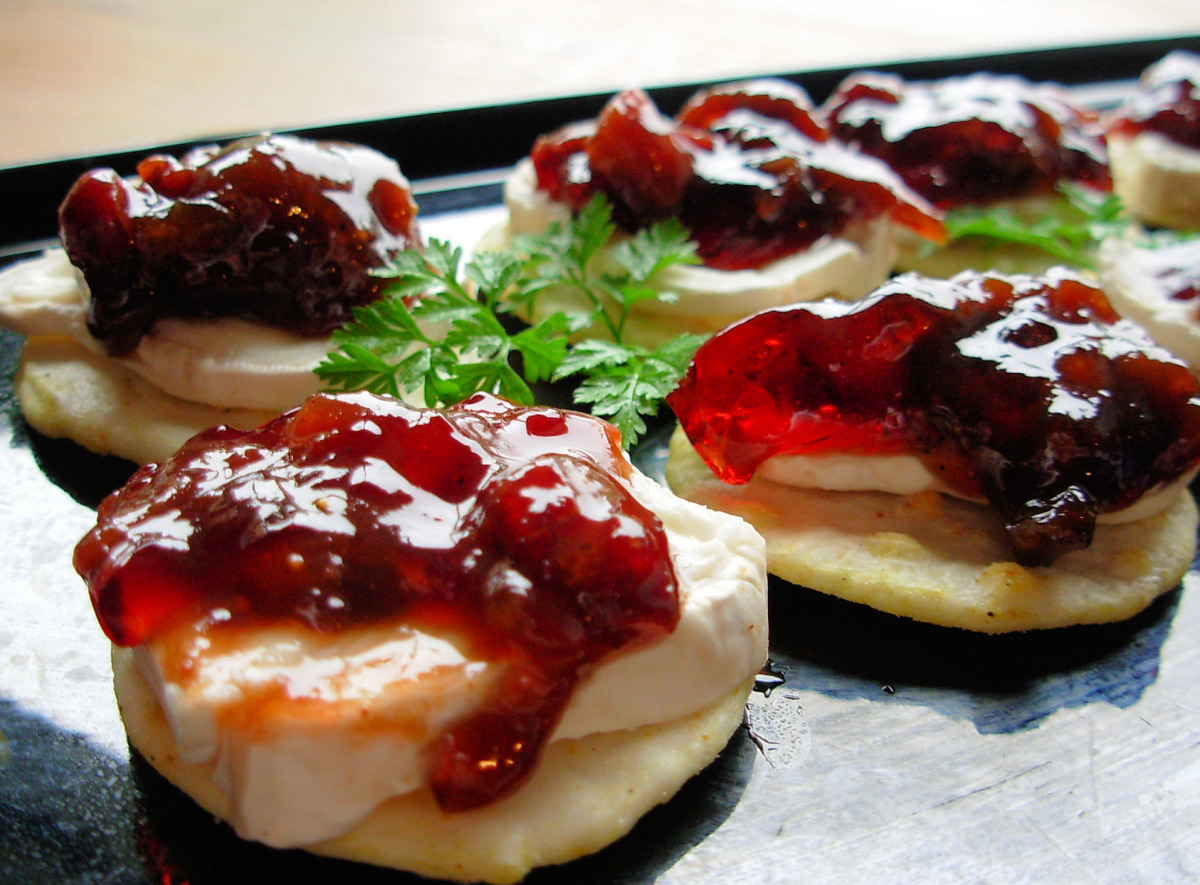 Dried Cranberry Chutney Appetizers image