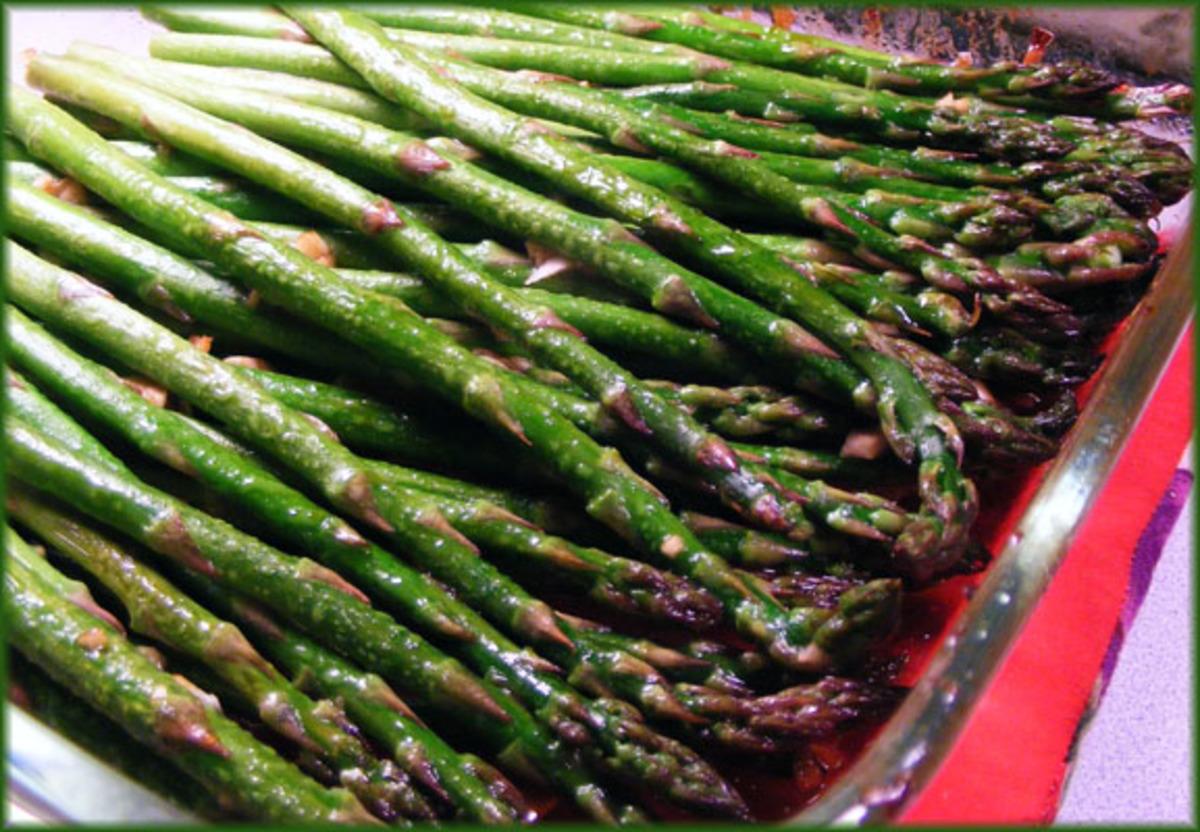 Grilled Soy-Sesame Asparagus image