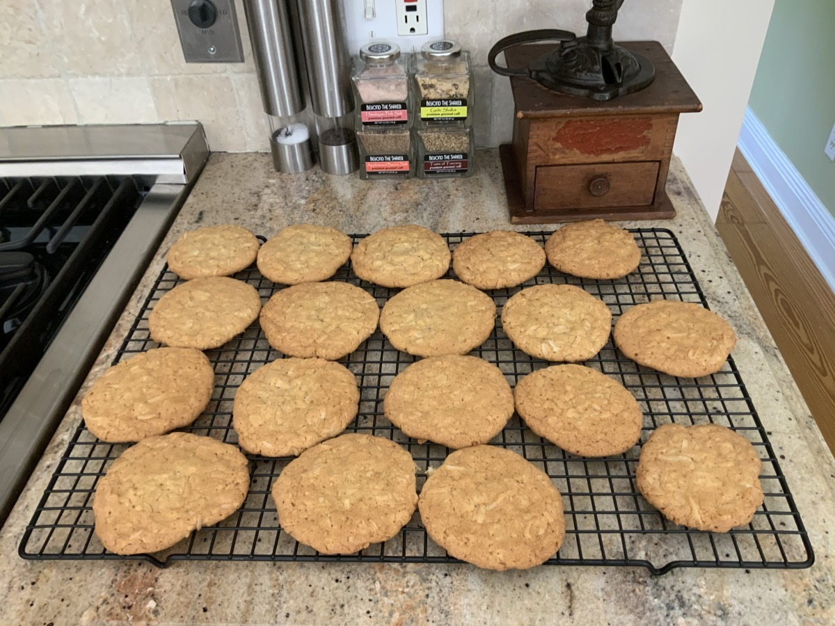 Chewy Coconut Cookies image