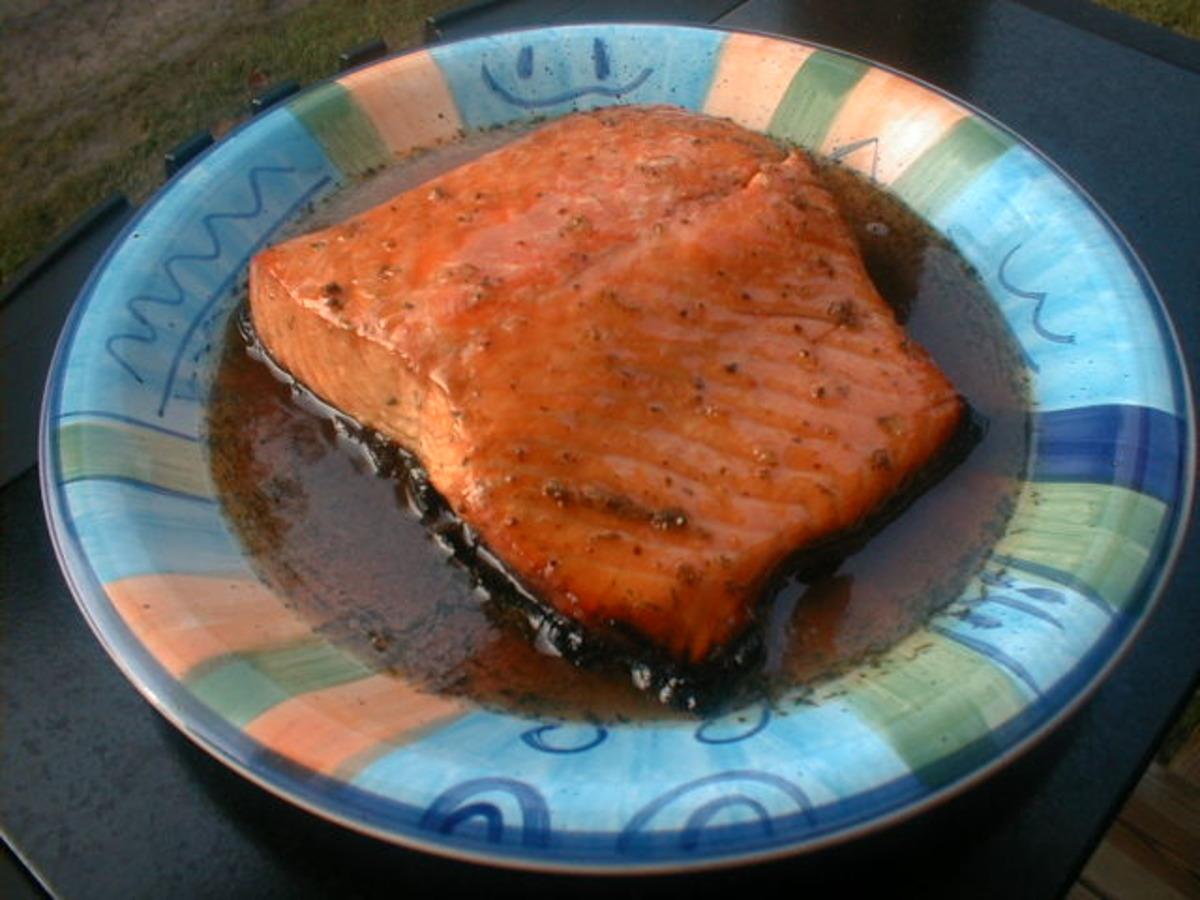 Grilled Glazed Salmon_image