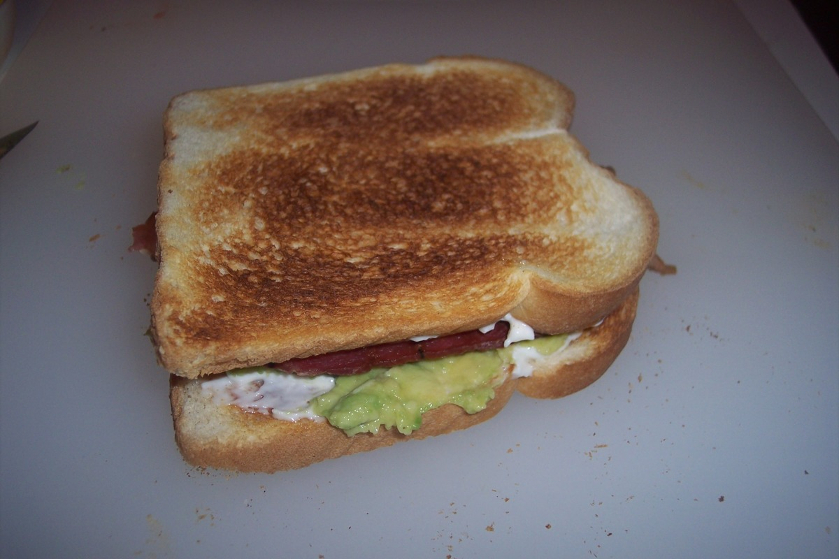 Avocado Sandwiches image